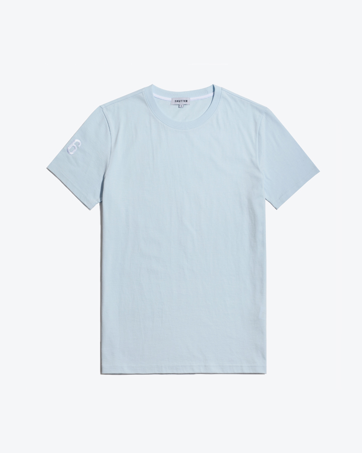 POINT 1/2 T-SHIRTS (LIGHT BLUE)